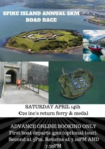 www.ringofcork.ie | Spike Island 5k Race | April 14th 2018