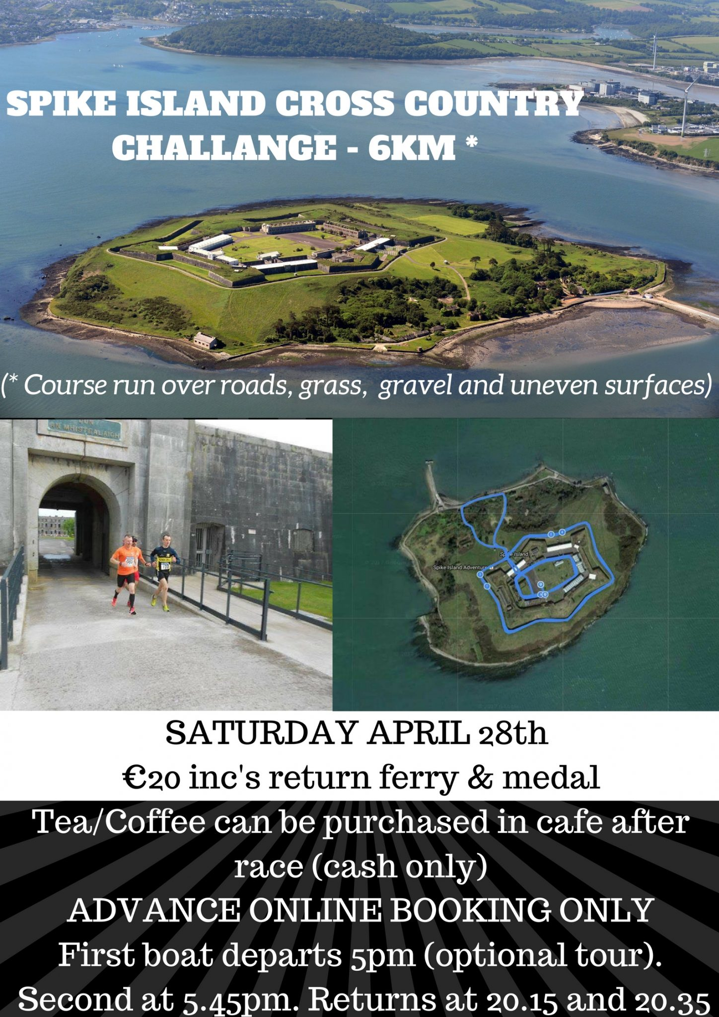www.ringofcork.ie | Spike Island Cross Country