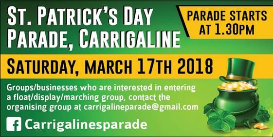 www.ringofcork.ie Ring of Cork St Patricks Day 2018 Carrigaline