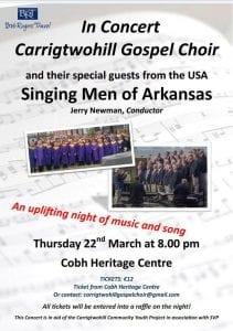www.ringofcork.ie | RIng of Cork | Singing Men of Arkansas